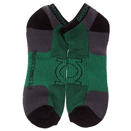Official DC Comics Green Lantern Logo Active Performance Ankle Socks