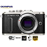 Olympus PEN E-PL8 16.1MP Black Mirrorless Digital Camera Body V205080BU000B - (Certified Refurbished)
