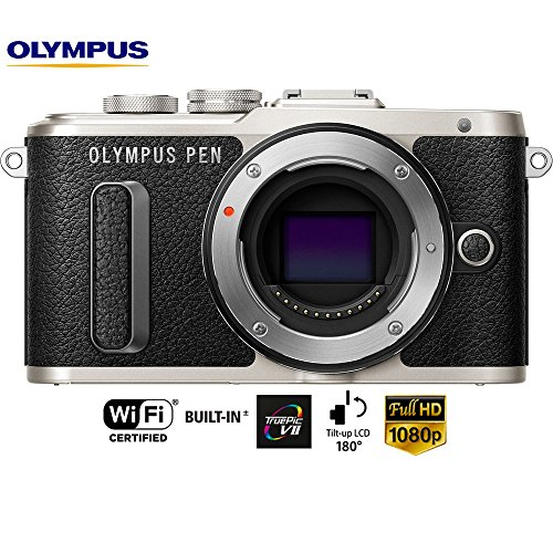Olympus PEN E-PL8 16.1MP Black Mirrorless Digital Camera Bod