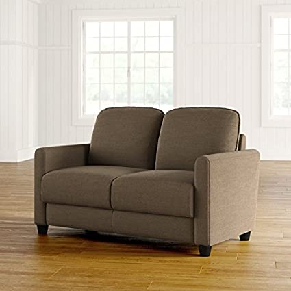 Amazoncom Sofa Made Of Microfiber In Taupe Colored With Frame Made