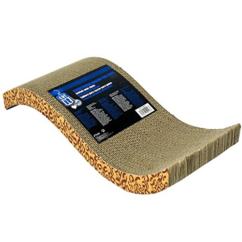 (Catit - Cat Scratcher - Cardboard Pad with Catnip - Animal)