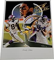 Randy Moss 18x24 Poster Photo Unsigned Minnesota Vikings 49ers Brand New!
