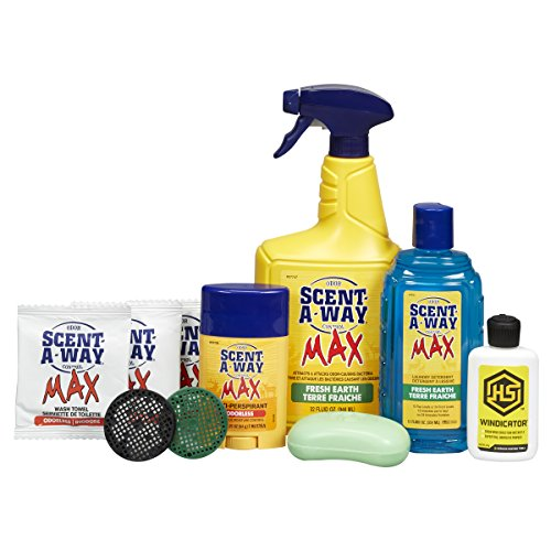 Hunters Specialties Scent-A-Way Max Fresh Earth Kit (10 Piece)