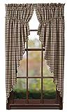 Nancy's Nook Jackson Prairie Curtain Set of 2-63x36x18