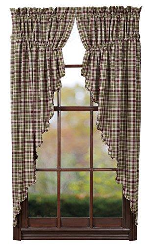 Nancys Nook Jackson Prairie Curtain Set Of 2 63x36x18