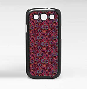 Colorful Sugar Skull Pattern Hard Snap on Phone Case (Galaxy s3 III)