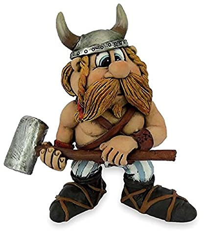 Funny Viking Funny Viking Sven With Hammer Amazoncouk Kitchen Home