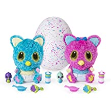 Hatchimals HatchiBabies Cheetree Hatching Egg Interactive Pet Baby (Styles May Vary) Ages 5 Up Responsive Plush Surprise Doll Accessories, Great