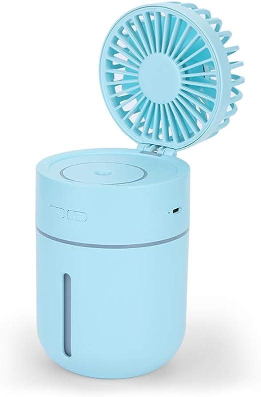 Huainiu Ventilador Flexible USB Recargable, Ventilador con Agua ...