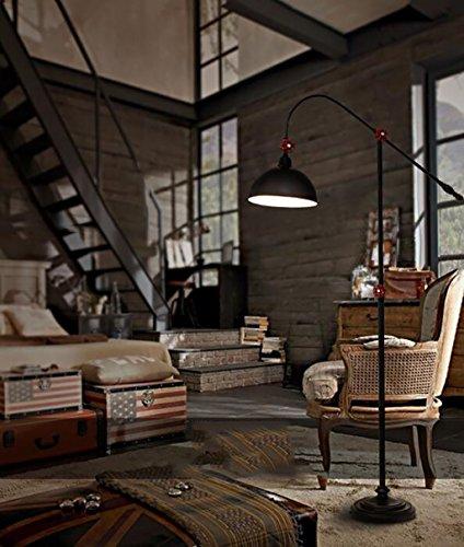 Lampes de chevet Loft industriel style lampadaire rétro ...