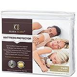 Clara Clark Twin Size - Hypoallergenic Water-proof Mattress Protector
