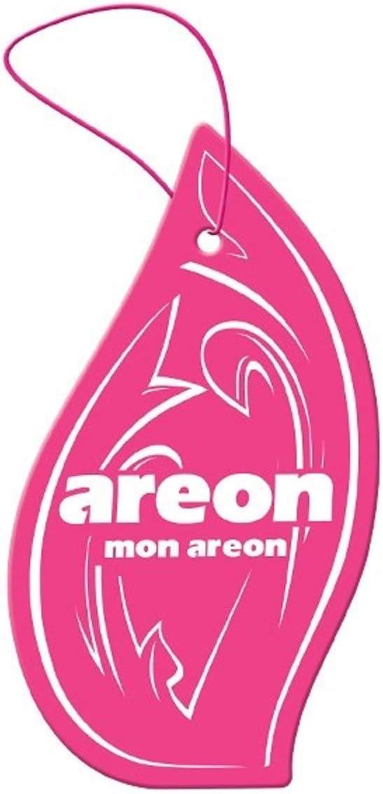 Areon Mon Auto Lufterfrischer Mit Wassermelone Hängend Für Van Lkw Wohnmobil Zuhause Büro Bad Fitnessraum Kleiderschrank Schubladen 3 Stück Auto