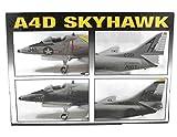 BATTLE DAMAGED A4D Skyhawk Lindberg Aircraft Model Kit 1:72