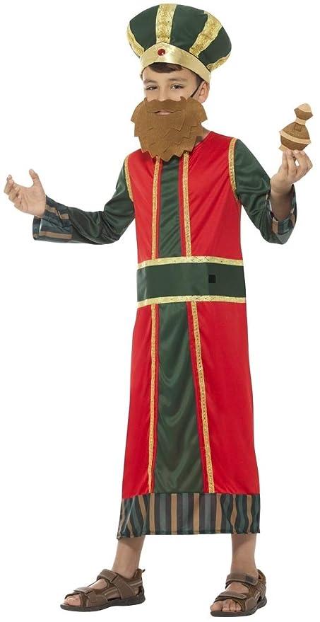 Fancy Me Disfraz de Navidad para niños con Texto en inglés King ...