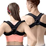 Fully Adjustable Posture Corrector For Men, Women and Teens | Kyphosis and Rounded Shoulders Splint Brace With Comfortable Straps For Pain Relief and Neck Support | Effective and Easy (MEDIUM)