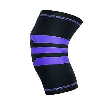 Breathable Knee Pad Sleeve Elastic Braided Leg Warmer Protector Fitness Outdoor