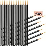 KINGMAS 100 Pcs Disposable Eyeliner Makeup Brush Applicator Eyes Eyeliner Makeup Tool