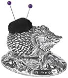 925 Sterling Silver Hedgehog Pin Cushion.