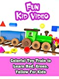 Colorful Toy Train to Learn Red, Green, Yellow For Kids