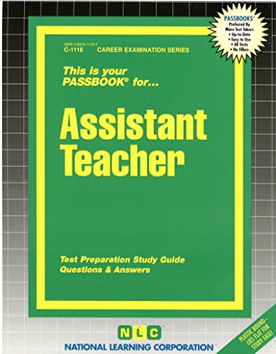 Assistant Teacher (Career Examination Passbooks)
