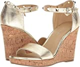 Marc Fisher Women's Karyna Gold Leather 10 M US