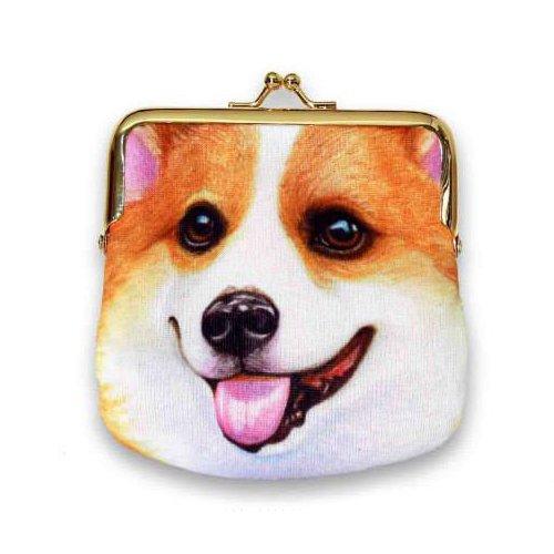 Sansukjai Sketch Corgi Printed On Fabric Coin Purse Bag Dog Lover/Collection/Gift 13 - Celine Australia