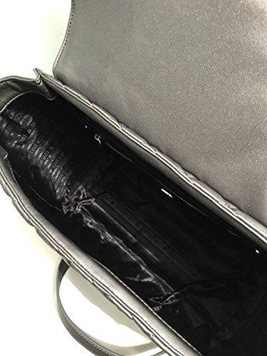 Love Moschino - Bolso de asas para mujer gris gris