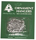 Holiday Trim 3926000 Ornament Hooks, Silver, 100-Ct. - Quantity 72