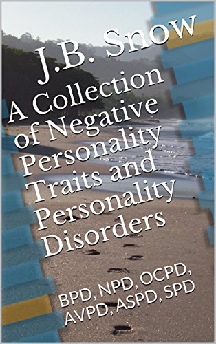 - A Collection of Negative Personality Traits and Personality Disorders: BPD, NPD, OCPD, AVPD, ASPD, SPD (Transcend Mediocrity Book 11)