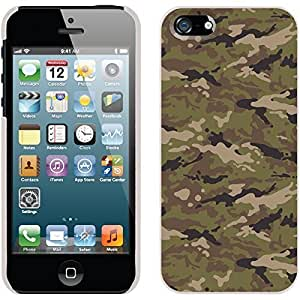 Camo Clay design on White iphone 5c / 5 Thinshield Snap-On Case WANGJING JINDA