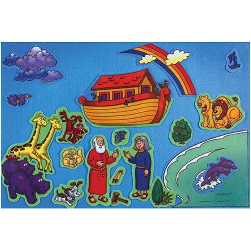 NOAHS ARK PRE-CUT FELT SET 20 Little Folks Visuals LFV21801