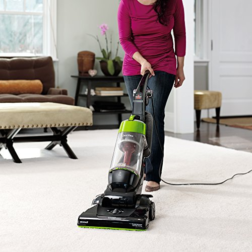 Bissell CleanView Bagless Upright Vacuum, Green,