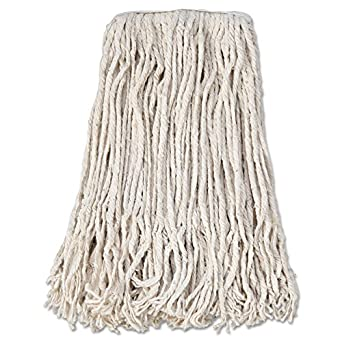 Boardwalk Cm02024s Mop Head Cotton Cut End White 4 Ply 24 Band Case Of 12 Wet Mops Industrial Scientific