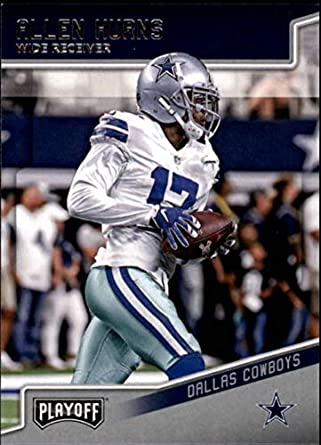 967f1dbc17e 2018 Playoff Football #52 Allen Hurns Dallas Cowboys Official NFL Trading  Card made by Panini