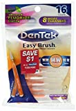 Beauty : DenTek Easy Brush Standard Interdental Cleaners, Mint 16 ea ( Pack of 6 )
