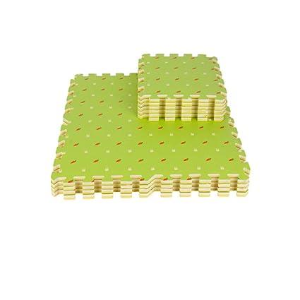16 piezas de colchonetas de espuma impermeable para niños ...