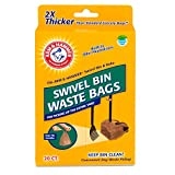 Arm & Hammer Swivel Bin Waste Bags 20 Count 1 Pack