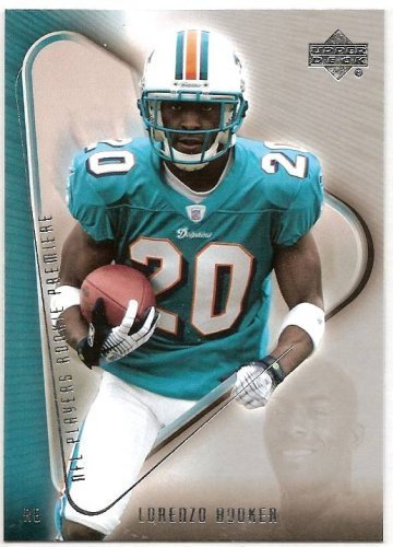 2007 Upper Deck NFL Players Rookie Premiere 3 # Lorenzo Booker (RC) - Miami Dolphins - Football Card
