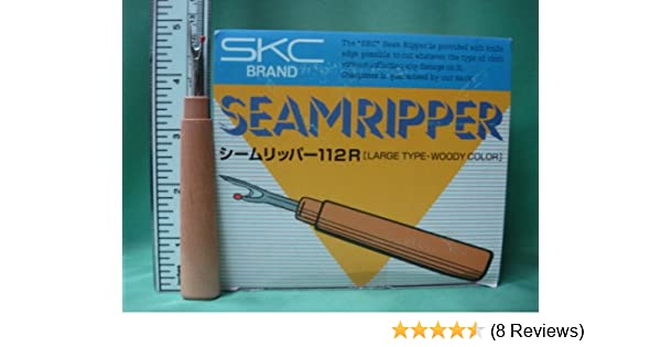 5.25 Inch With Plastic Protective Cover Deluxe Seam Ripper With Plastic Handle 1 Bulk Or Single//Individual