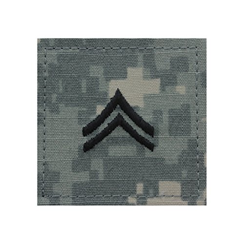 Authentic Military Rank Insignia US Made (Corporal - ACU)