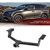 "VXMOTOR for ( 06-12 Toyota RAV4 ) ( 13-16 Toyota RAV4 Non-Electric Model ) - CLASS 3 III - Trailer TOWING HITCH MOUNT Receiver REAR Bumper Utility TOW KIT 2"" SUV AWD"