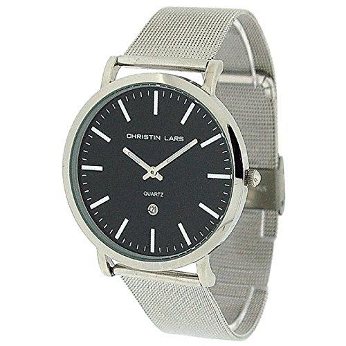Christin Lars Herren Armbanduhr CHL51B: : Uhren