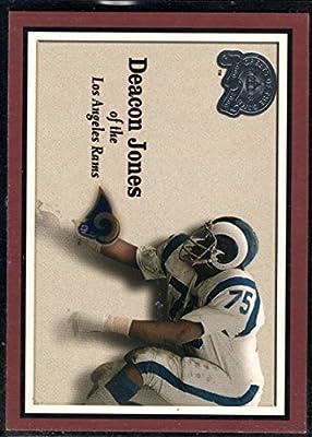 Football NFL 2000 Fleer Greats of the Game #68 Deacon Jones LA Rams