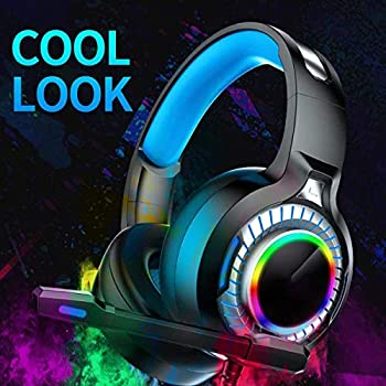 3.5mm 7.1USB Wired Stereo Game Headset Colorful LED Gaming Headphone 50mm Driver 4D Surrounded Sound Headset with Wheat Leather