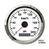 SPR GPS Speedometer Gauge 0-200KM/H For Car Truck 85mm
