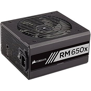 CORSAIR RMX Series (2018), RM650x, 650 Watt, 80+ Gold Certified, Fully Modular Power Supply