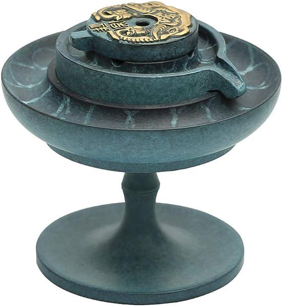 芳香器・アロマバーナー リフロー香炉ホーム屋内ストーン研削銅香炉装飾香茶道純銅プレート香炉 アロマバーナー芳香器