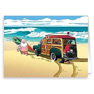 51PrbAAhamL._SS300_ Beach Christmas Cards and Nautical Christmas Cards