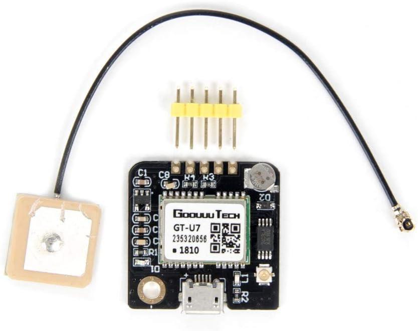 Jolicobo GT-U7 Receptor GPS Módulo de navegación Microcontrolador satelital GPS NEO-6M 51 microcontrolador STM32 con una Antena Activa