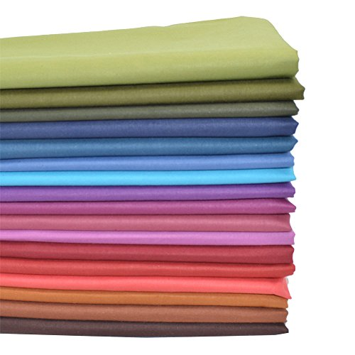 iNee Autumn Fall Solids Fabric Bundles